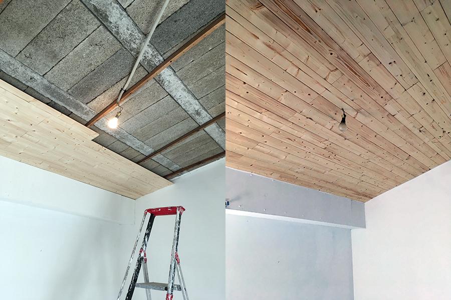 Réalisation plafond, peintre prades-le-lez, jacou, saint-gely-du-fesc, le-crès, Rubio Courrège