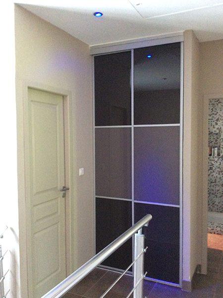 Réalisation peinture couloir, peintre prades-le-lez, jacou, saint-gely-du-fesc, le-crès, Rubio Courrège